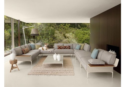 DEDON RAYN SECTIONAL RIGHT MODULE IN SALINA COLOR WEAVE