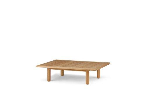 DEDON TIBBO 41x55 COFFEE TABLE IN TEAK