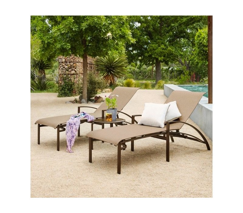 PASADENA ADJUSTABLE CHAISE LOUNGE GRADE A