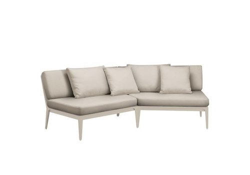 BROWN JORDAN STILL ANGLED SECTIONAL WITH GRADE A FABRIC
