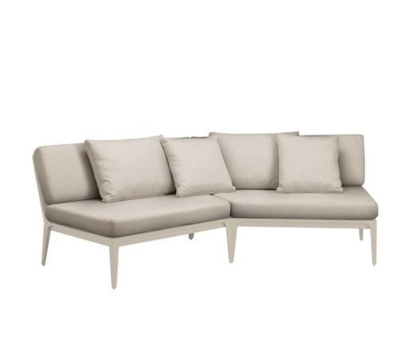 STILL ANGLED SECTIONAL WITH GRADE A FABRIC