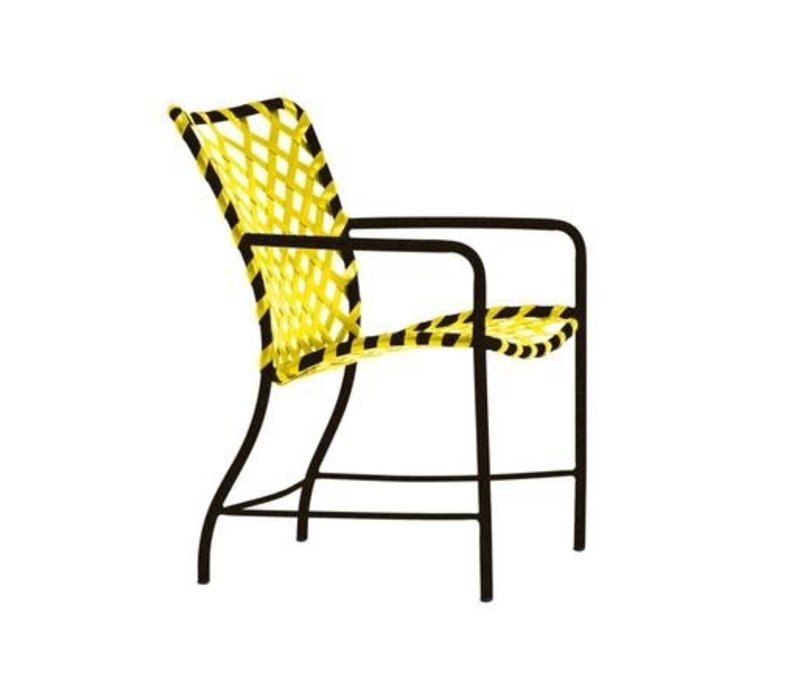 TAMIAMI ARM CHAIR WITH VINYL LACE