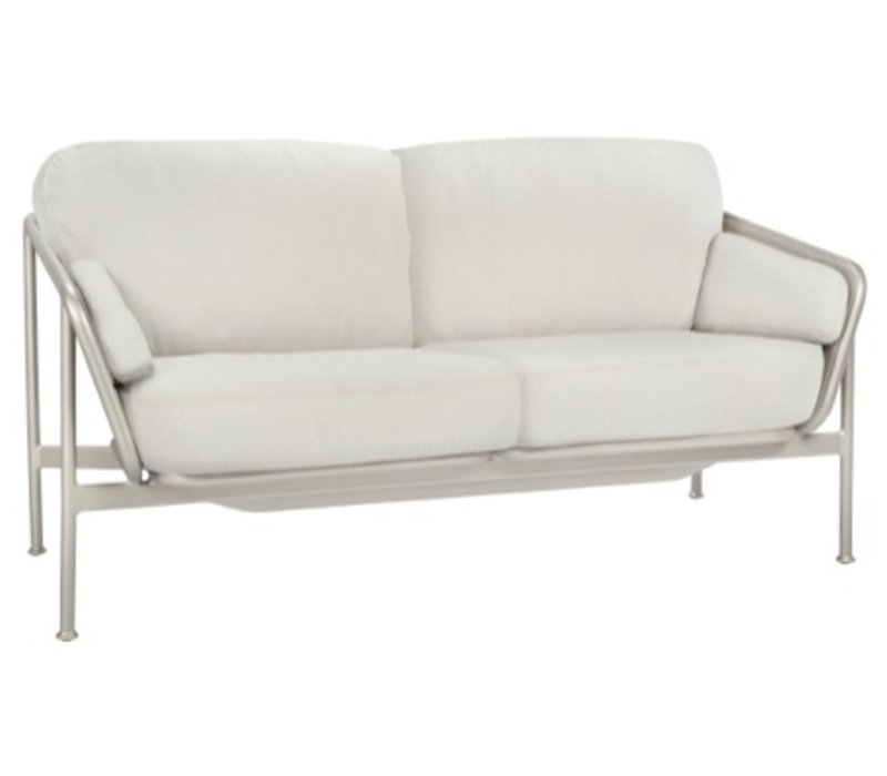 VERGE LOVESEAT WITH CUSHIONS IN GRADE A FABRIC