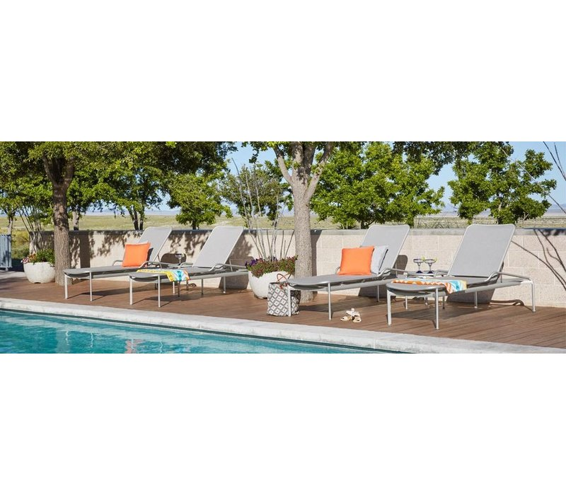 VERGE STACKING ADJUSTABLE CHAISE