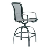 WAVE SWIVEL BAR CHAIR WITH PARABOLIC SLING