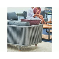 MOMENTS CORNER MODULE WITH CUSHIONS IN GREY SOFTTOUCH