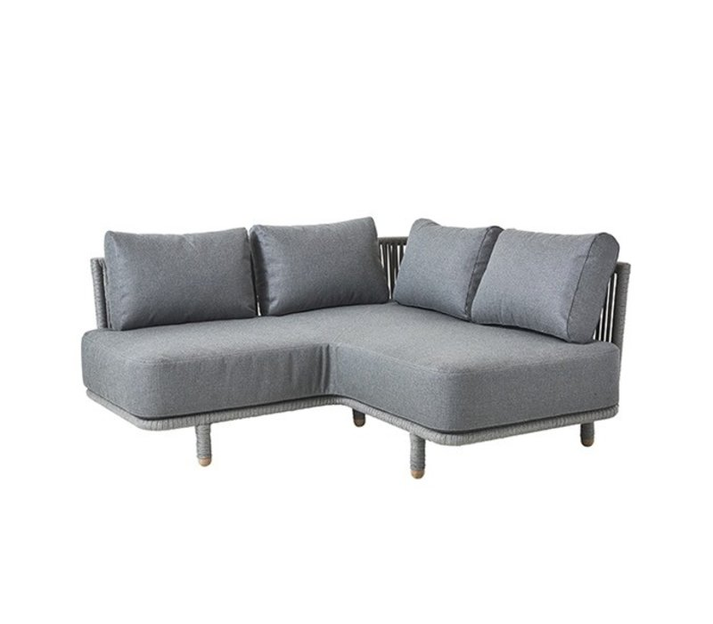 MOMENTS CORNER MODULE WITH CUSHIONS