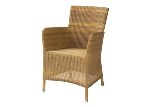 CANE-LINE HAMPSTED ARM CHAIR IN NATURAL, CANE-LINE FIBRE
