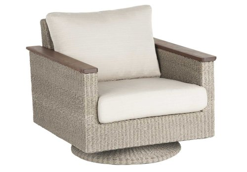 JENSEN LEISURE FURNITURE CORAL SWIVEL ROCKER