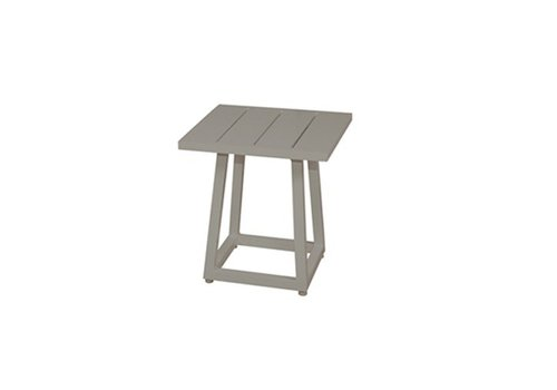MAMAGREEN ALLUX 17x17 SIDE TABLE WITH POWDER COATED ALUMINUM FRAME AND TOP
