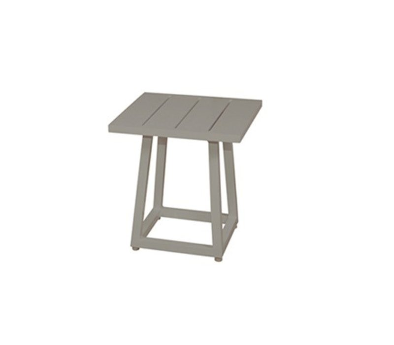 MAMAGREEN ALLUX 17x17 SIDE TABLE WITH POWDER COATED ALUMINUM FRAME ...