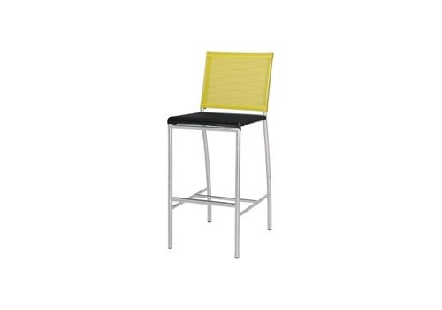 MAMAGREEN NATUN BAR CHAIR WITH STAINLESS STEEL FRAME AND STANDARD BATYLINE SLING