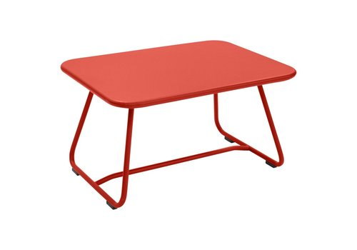 FERMOB SIXTIES 30x22 LOW TABLE IN POWDER COATED STEEL