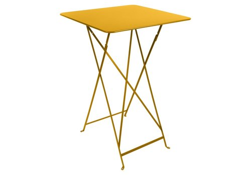 FERMOB BISTRO FOLDING HIGH TABLE 28x28 IN POWDER COATED STEEL