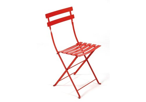 FERMOB BISTRO METAL CHAIR IN POWDER COATED STEEL (sold in sets of 2)