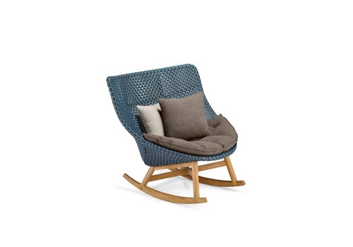 DEDON MBRACE ROCKING CHAIR IN ATLANTIC