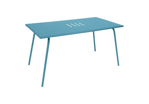 FERMOB MONCEAU 57x31 DINING TABLE IN POWDER COATED STEEL