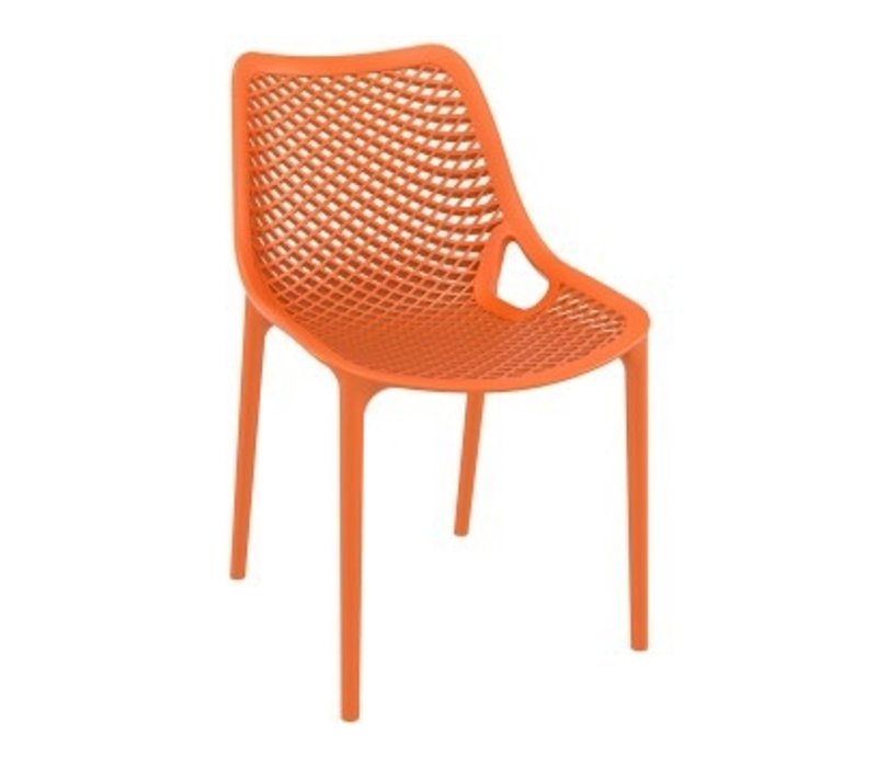AIR OUTDOOR DINING CHAIR / ORANGE