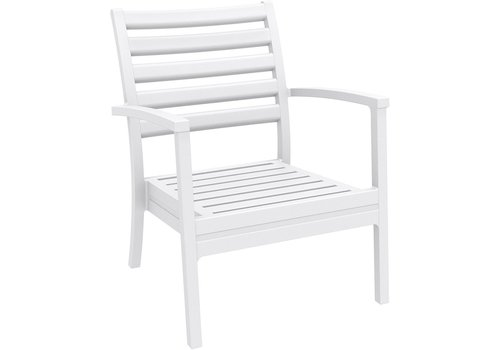SIESTA ARTEMIS XL CLUB CHAIR IN WHITE