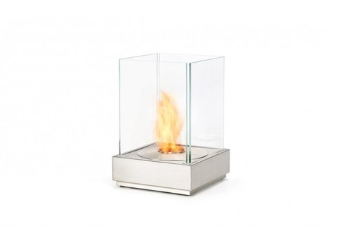 MINI T FIRE ELEMENT WITH AB3 BURNER / STAINLESS STEEL AND TEMPERED GLASS