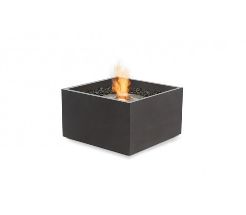 RISE BIOETHANOL FIRE PIT IN GRAPHITE