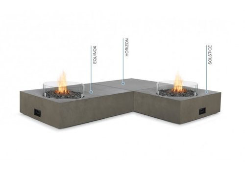 SOLSTICE LP/NG FIRE TABLE IN GRAPHITE