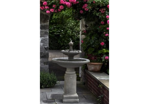 CAMPANIA WESTOVER CAST STONE FOUNTAIN
