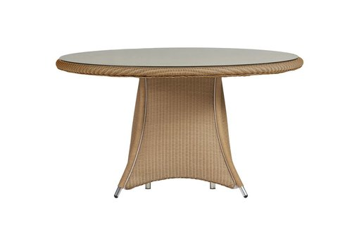 LLOYD FLANDERS GENERATIONS 54 INCH DINING TABLE WITH LAY ON GLASS