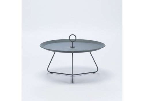 HOUE EYELET 28 INCH TRAY TABLE IN DARK GREY POWDER COATED STEEL