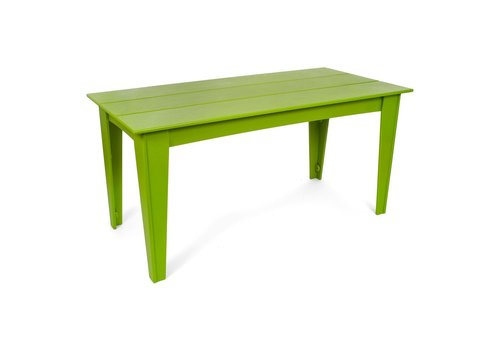 LOLL DESIGNS ALFRESCO 95 X 36 TABLE LEAF GREEN