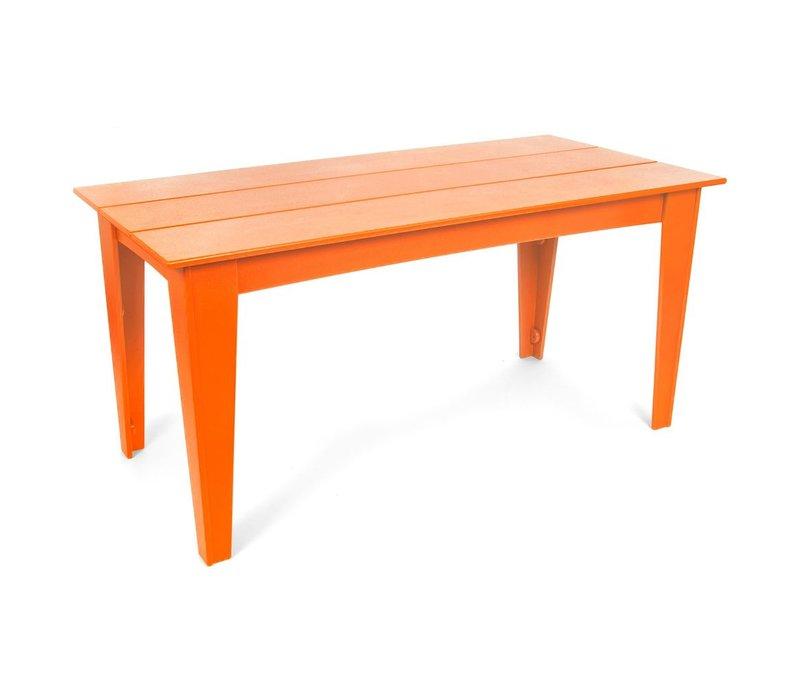 ALFRESCO 95 X 36 TABLE SUNSET ORANGE