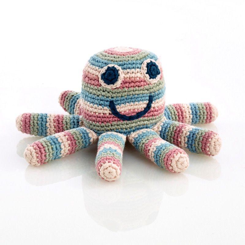 Pebbles Pebbles, Octopus Rattle, Organic