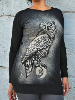 Sea of Wolves Design Sea of Wolves, Terry Raglan, Mystic Owl Print