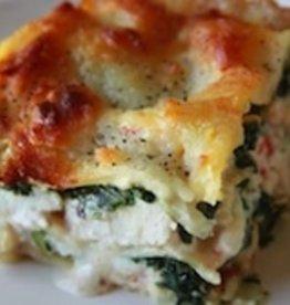 Chicken Spinach White Lasagna (4)