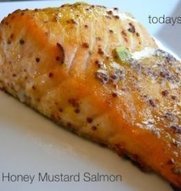 Honey Mustard Salmon Dinner For Four