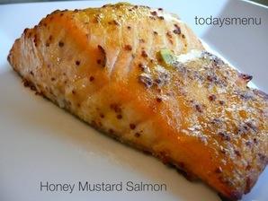 Honey Mustard Salmon Dinner (Serves 4)