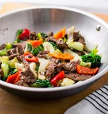 Spicy Asian Beef Stir Fry