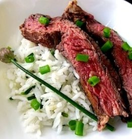 Flank Steak With Basmati Rice for Two