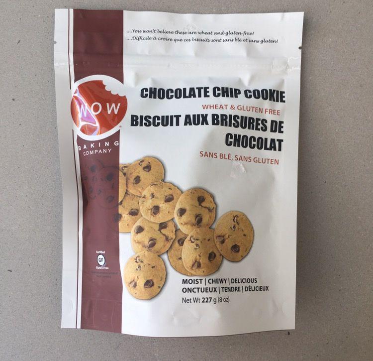 WOW Chocolate Chip Cookies GF
