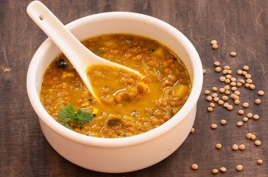 Lentil Curry Vegetarian Dinner for Two