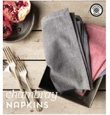 Napkins Blue (set 4)