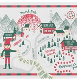 Cork - Backed North Pole Placemats