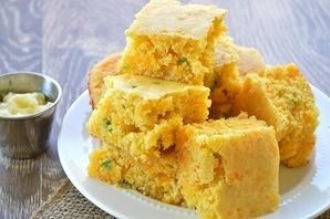 Jalapeño Cheddar Corn Bread (4)