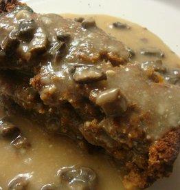 Beef Meatloaf & Mushroom Gravy (1)