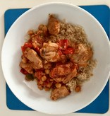 Moroccan Chicken Tagine Dinner for Two