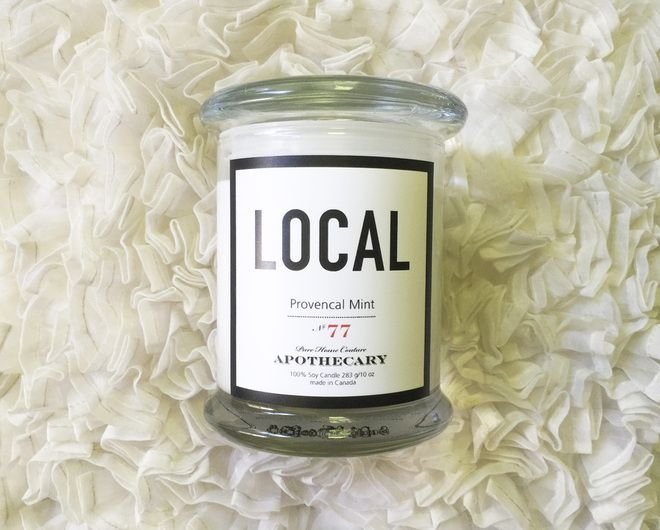 Local Candle Provencal Mint
