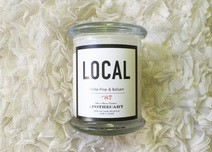 Local Candle White Palm & Balsam