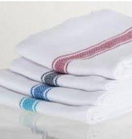 Brooklyn Stripe Towels Black