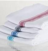 Brooklyn Stripe Towels Turquoise