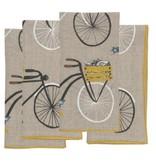 Napkins Bicycle Linen Napkins (4)